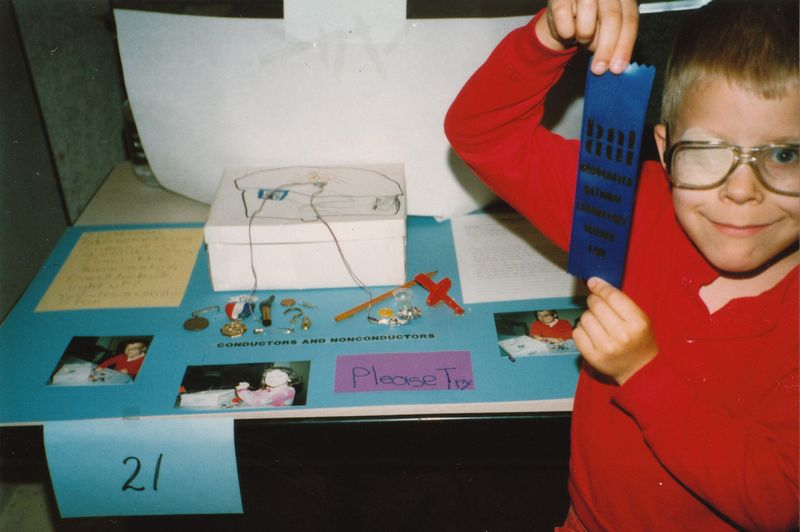 BNL science fair 1989